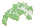 Czarna (gmina w powiecie bieszczadzkim) location map.png