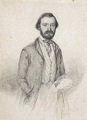 Domenico Induno - Self-portrait (1846)