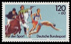 DBP 1983 1173 Sporthilfe Weltmeisterschaft Warendorf.jpg
