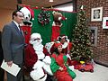 DC Mayor Vincent Gray poses for photographers after wishing a Merry Christmas to youth 131218-N-CG900-001.jpg