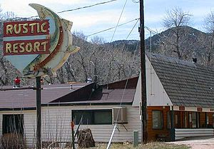Poudre Canyon - Rustic Resort in the upper Poudre Canyon