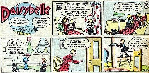 Daisybelle - The Funnies, No 4 01