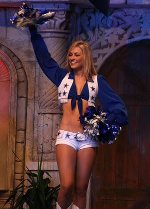Dallas Cowboys Cheerleader.