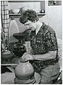 Dame Doreen Blumhardt, at Potters Wheel.jpg
