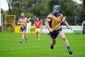 Damien Hayes - Damien Hayes playing for Portumna in 2013