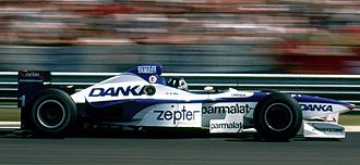 1997 Hungarian Grand Prix - Damon Hill led most of the race in the Arrows Yamaha