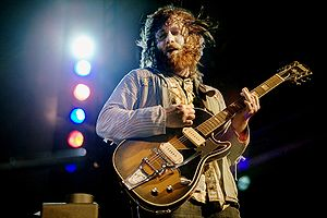 Dan Auerbach, guitarist of the Black Keys play...