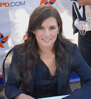2013 Daytona 500 - Danica Patrick became the first woman to win a pole position in a NASCAR Sprint Cup Series race