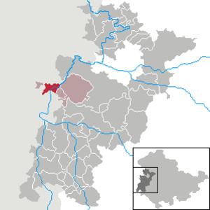 Dankmarshausen - Image: Dankmarshausen in WAK