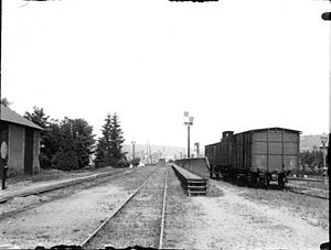 Aurillac - The Station at Aurillac in 1898