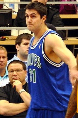 Darko Miličić, Lakers@Wolves_201004_0088