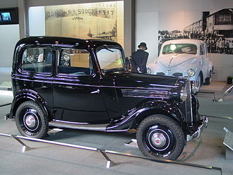 Nissan Bluebird - 1937 Datsun type 16 2-door sedan