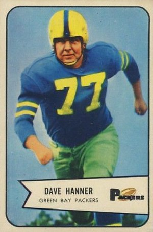 Dave Hanner - Image: Dave Hanner 1954 Bowman