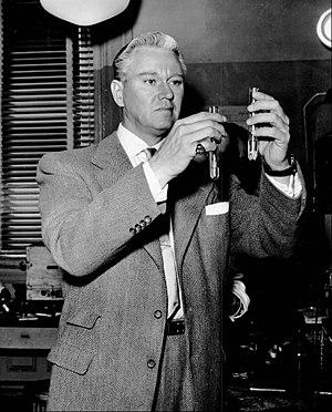 Mr. District Attorney - David Brian in the title role, 1954.