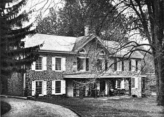 Ambler, Pennsylvania - Image: Dawesfield House from The Morris Family of Philadelphia Volume 4
