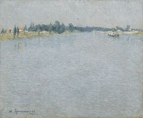 The Seine, Morning (Saint-Ouen)