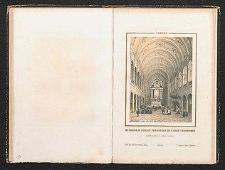 De kerk van de Jezuïeten, de Sint-Carolus Borromeuskerk, te Antwerpen, vanbinnen