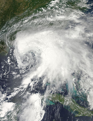 2012 Atlantic hurricane season - Image: Debby Jun 24 2012 1900Z