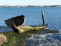 Decaying Wreck-Langstone Harbour - geograph.org.uk - 1627098.jpg