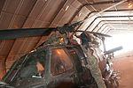 Dedication to the job, Spc. Rohaley, the UH-60 mechanic 141107-Z-JA114-045.jpg