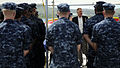 Defense.gov News Photo 100727-F-6655M-007 - Deputy Secretary of Defense William J. Lynn III talks with U.S. Navy sailors of Submarine Squadron 15 during a recent tour of Naval Base Guam on.jpg