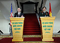 Defense.gov News Photo 101011-F-6655M-026 - Secretary of Defense Robert M. Gates and Vietnamese Minister of Defense Gen. Phung Quang Thanh hold a joint press conference in the Vietnamese.jpg