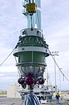 Delta-K second stage for Delta 294 mission (KSC-02PD-2059).jpg