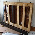 Demolition of upright Knabe piano removing boards.JPG