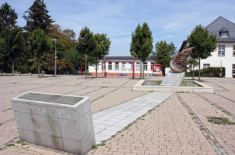 Denkmal Platz der Weißen Rose Marburg