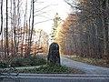 Der Distriktstein (7) wurde 1952 erstellt unter der Leitung von Forstmeister Knödler - panoramio.jpg