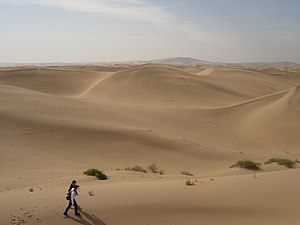 Gobi Desert at Inner Mongolia, China
