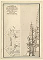 Design for Half Elevation and Half Ground Plan of a Catafalque for Countess Palatine of the Rhine, Theresia Catharine, wife of Count Palatine, Charles Philip III (1716-1742). MET DP820195.jpg