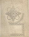 Design for a Ceiling, Ampthill Park, Bedfordshire (Half plan) MET DP805617.jpg