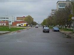 Desnogorsk (Десногорск) broadway (Бродвей) - panoramio.jpg