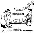 Dessin humoristique de Phil, fakir lévitation 1934.jpg