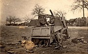 Destroyed Armoured Autocar
