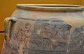 Detall d'un gran recipient d'emmagatzematge d'Edeta, museu de Prehistòria de València.JPG