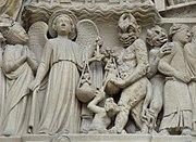 Sculpture from the restoration program