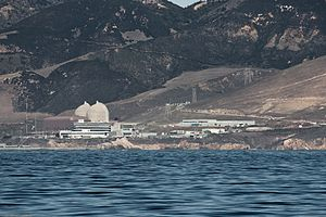 Avila Beach, California - Diablo Canyon Power Plant near Port San Luis