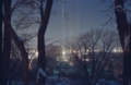 Diamond Dust Light Pillars, Rochester, NY 1993.png