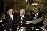 Dick Cheney, Mitch McConnell, and Trent Lott