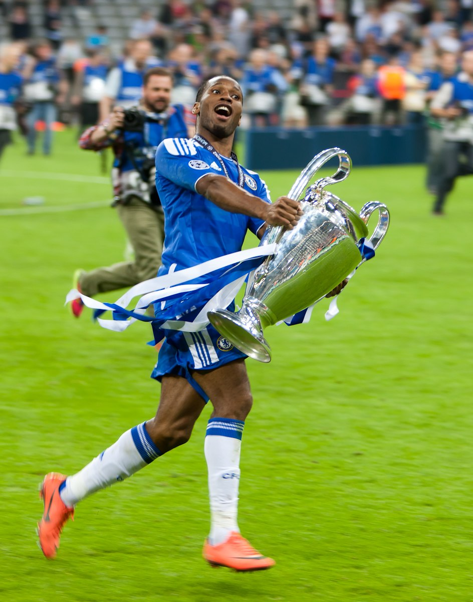 Didier Drogba Champions League Winner
