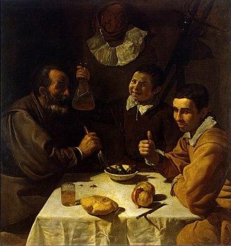 The Lunch (Velázquez) - Image: Diego Velázquez 016