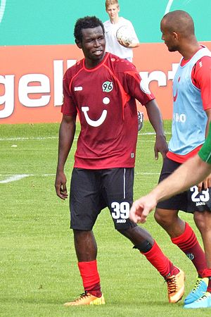 Mame Biram Diouf - Diouf with Hannover in 2013