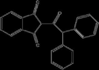 Vitamin K antagonist - Image: Diphenadione