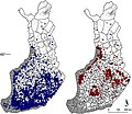 Distribution of Ixodes ricinus and Ixodes persulcatus in Finland.jpg