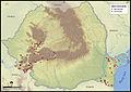 Distribution of vipera ammodytes in romania.jpg