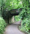 Disused railway bridge near Loders - geograph.org.uk - 469067.jpg