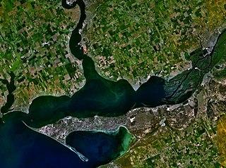 lake in Ukraine