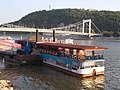 Dock 8A, Elisabeth Bridge and Gellért Hill, 2017 Budapest.jpg